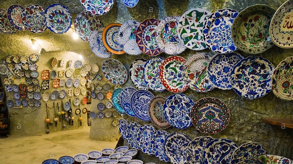 Avanos, the capital of Turkish pottery