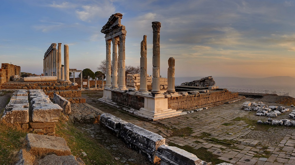 Pergamon, the capital of Pergamon Empire and birthplace of Claudius