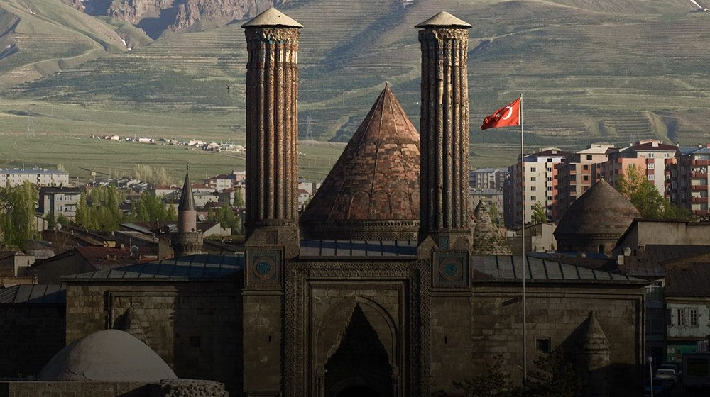 Erzurum, the pulsar historical heart of Anatolia