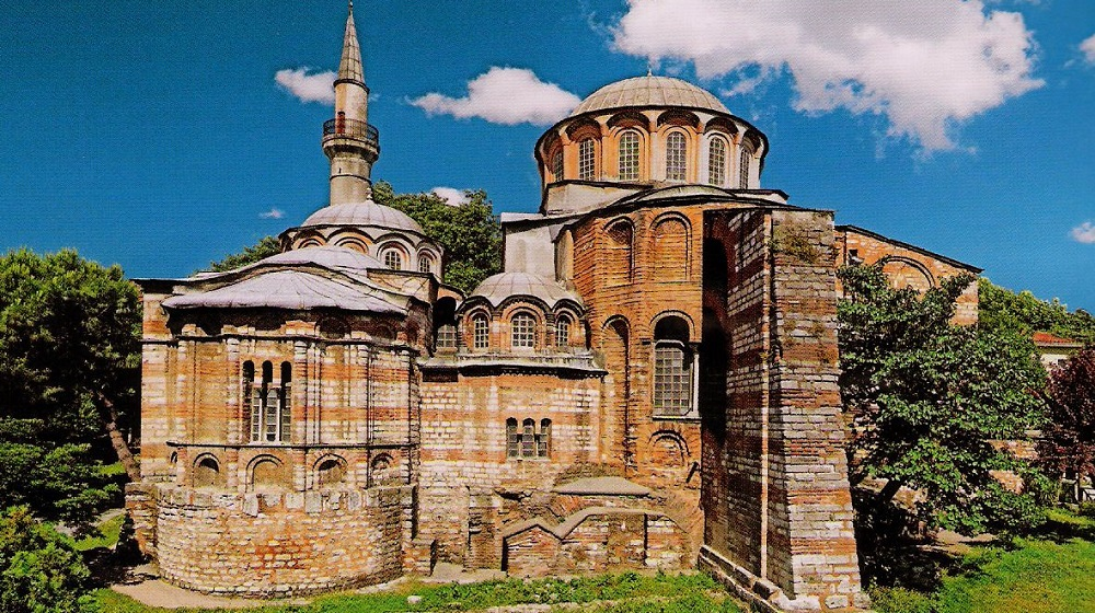 The Kariye Museum of Istanbul, the masterpiece of Byzantine era
