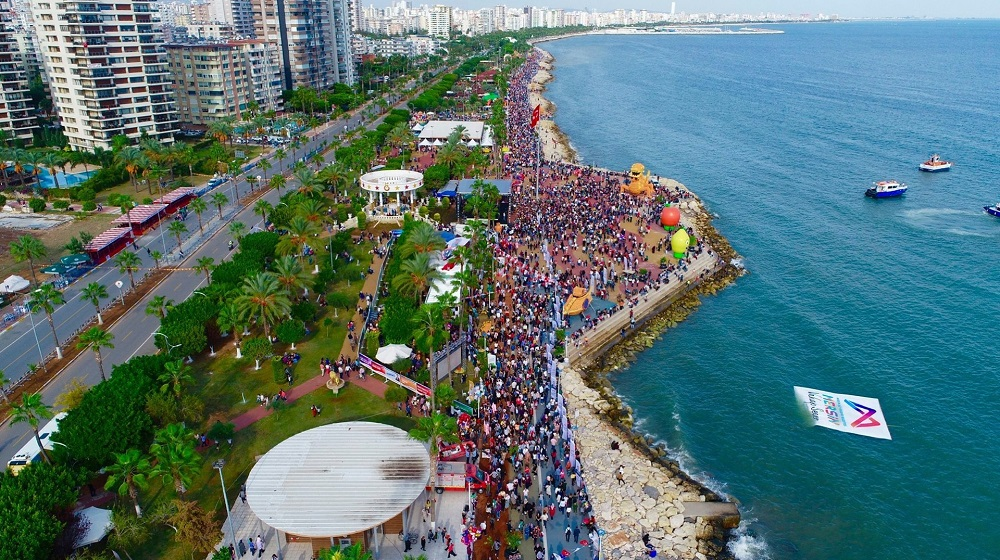 Mersin, the city of business, maritime and tourism