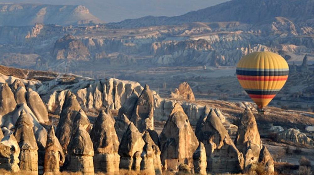 Güzel atlar ülkesi Kapadokya ve Göreme Milli Parkı